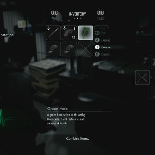 Featured image on Crafting Recipes List for Resident Evil 3