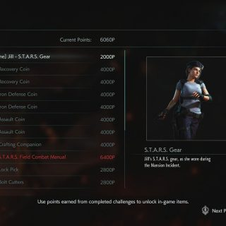 Featured image on Resident Evil 3 All Shop Items list