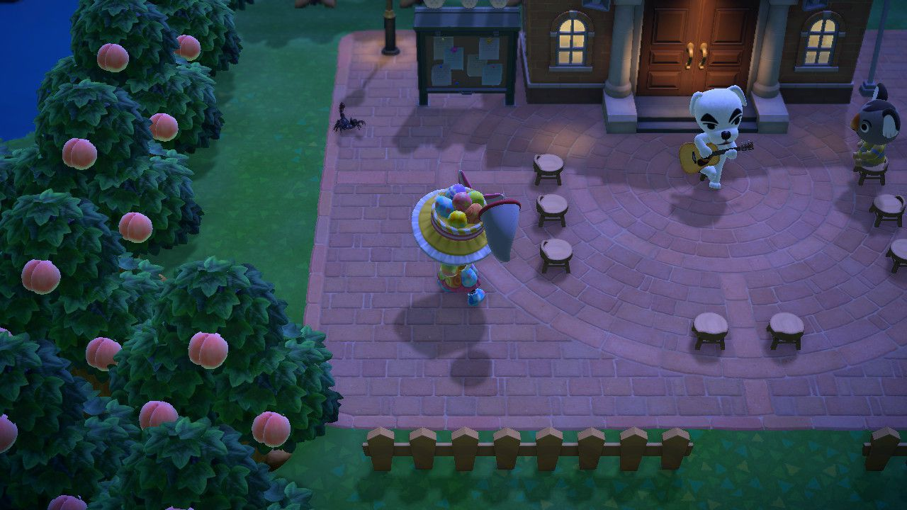 Image showing how to catch a Scorpion in Animal Crossing New Horizons.