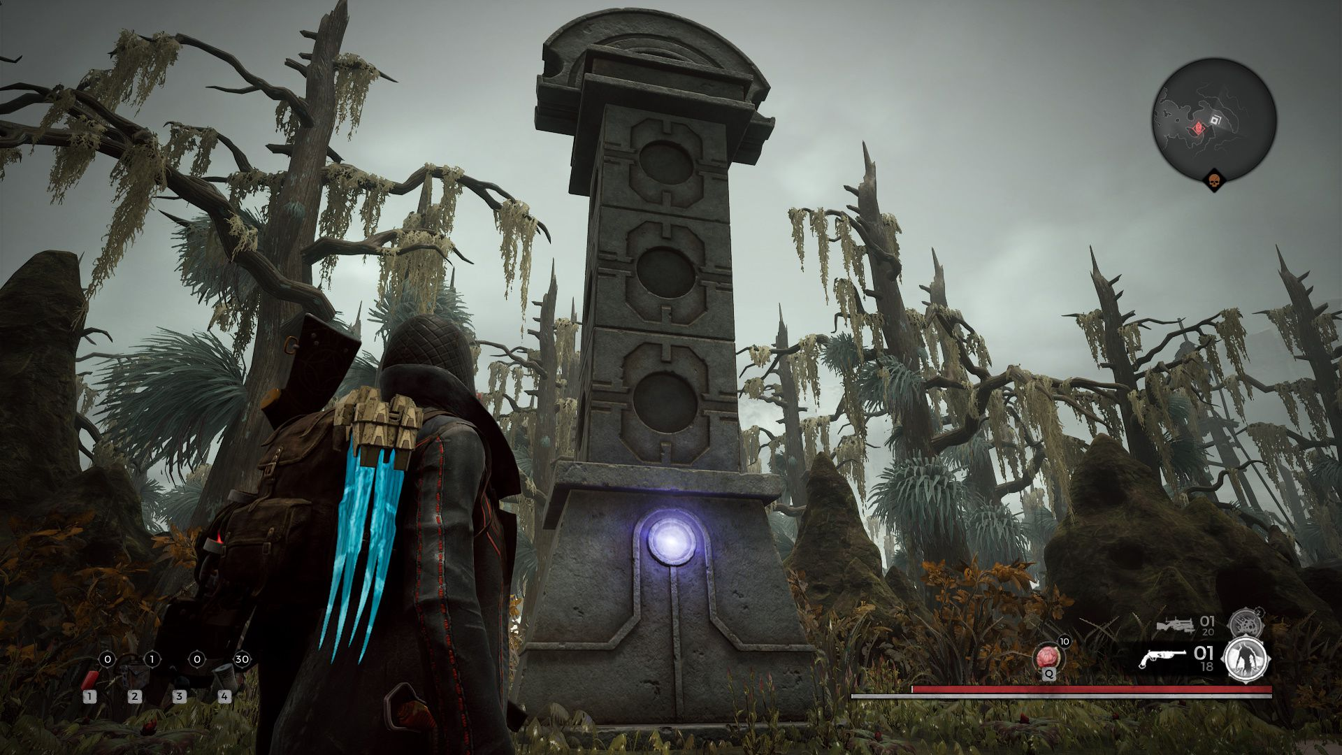 Image showing the Cryptolith on Corsus in Remnant From the Ashes.