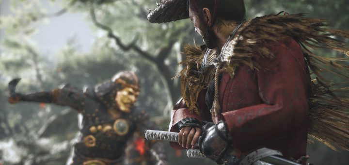 Featured image on First Look at Ghost of Tsushima Gameplay news article