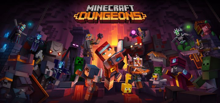 Featured image on Minecraft Dungeons Trophies & Achievements List