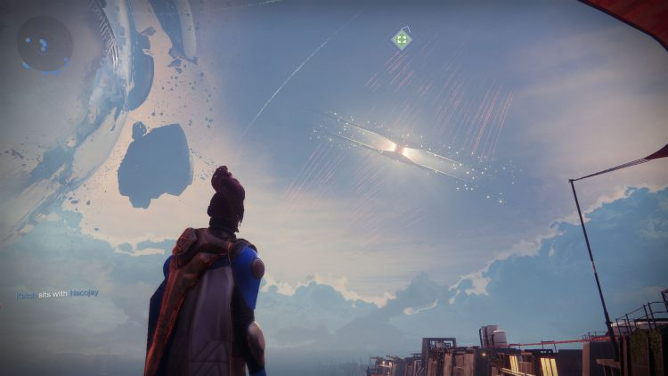 Image showing the Almighty during the live event in Destiny 2.