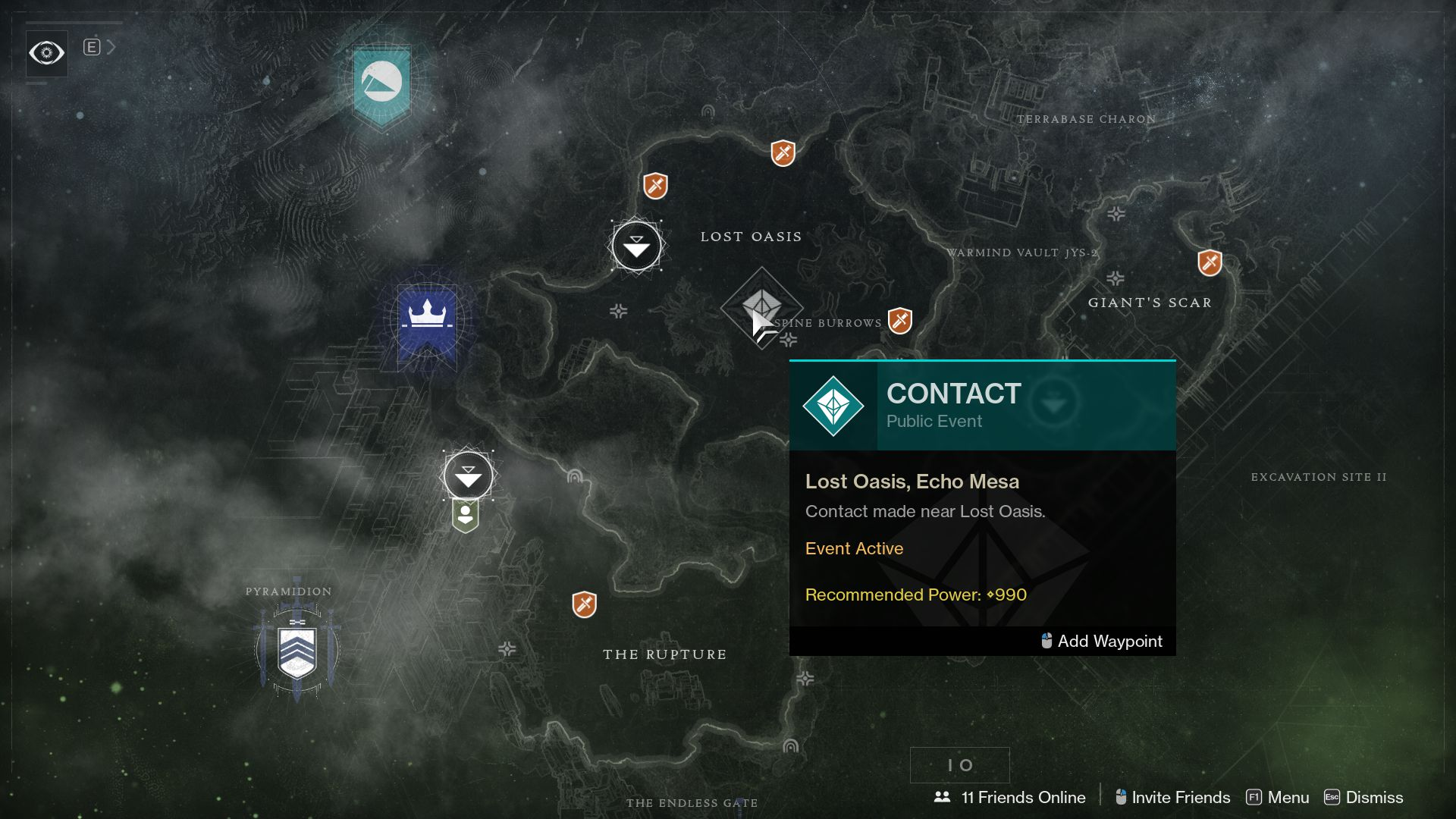Image showing the Contact Public Event in Destiny 2.