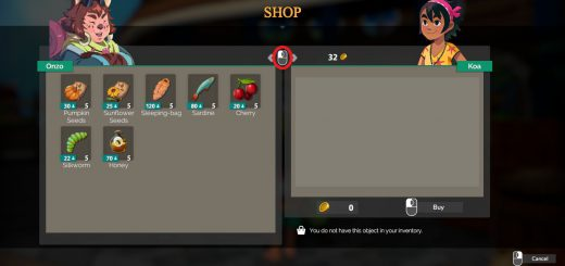 Featured image on how to sell items in Summer in Mara guide