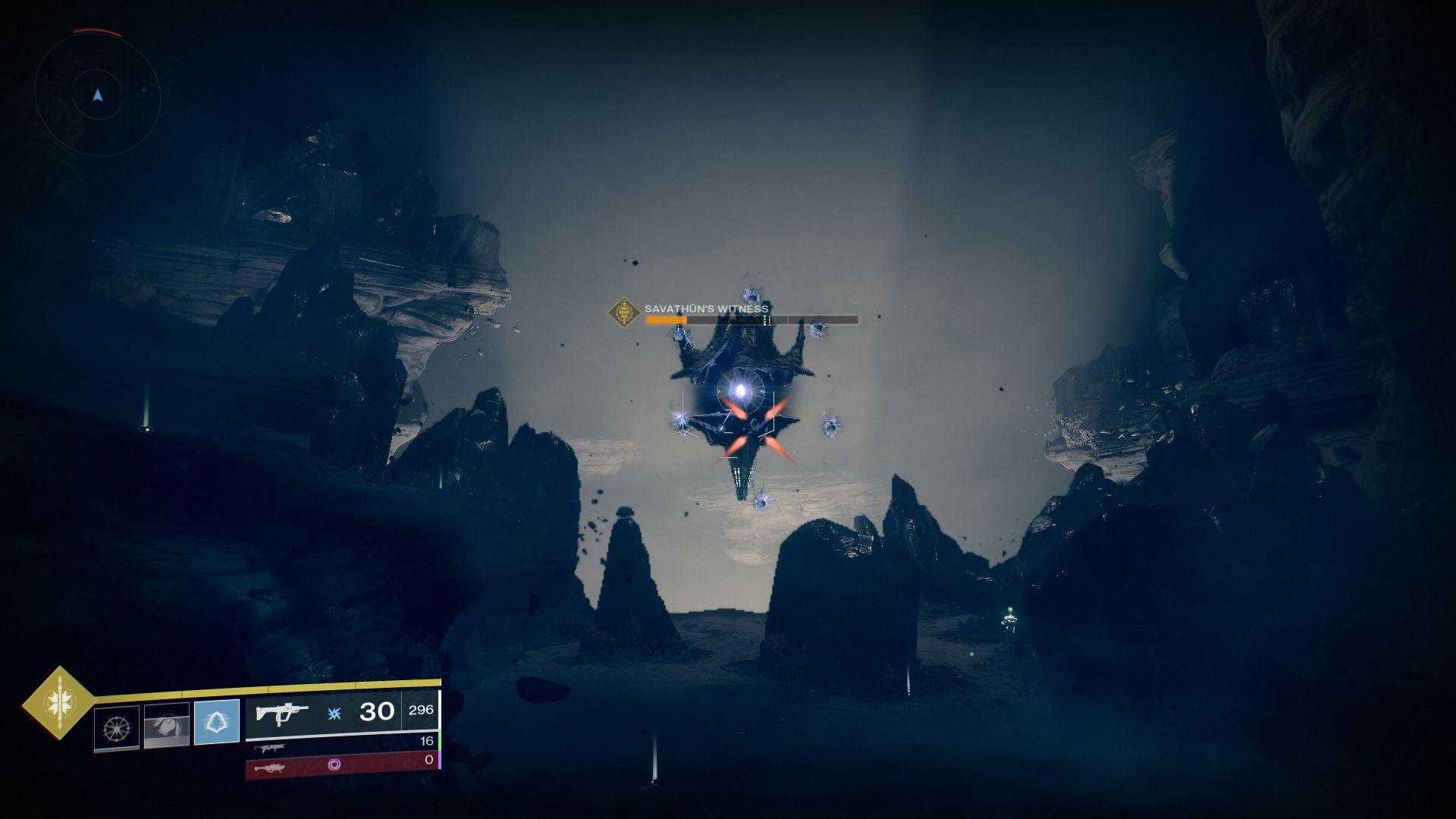 Image showing the Savathun Witness boss in Destiny 2.