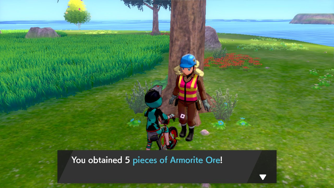 Image showing Dig Ma in Isle of Armor for Pokemon Sword and Pokemon Shield.