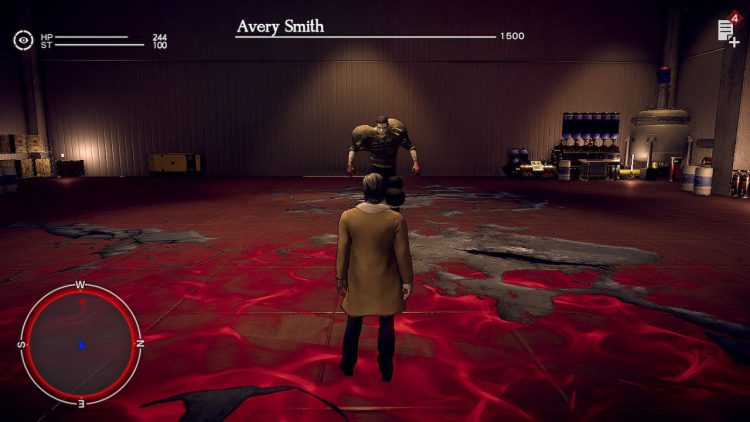 Image showing the Avery Smith boss in Deadly Premonition 2  A Blessing in Disguise.
