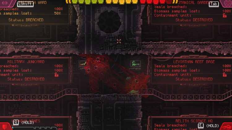 Image showing the levels room in Carrion.
