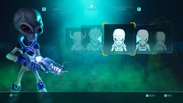 Изображение кожи Crypto-137 в игре «Уничтожить всех людей» (2020).