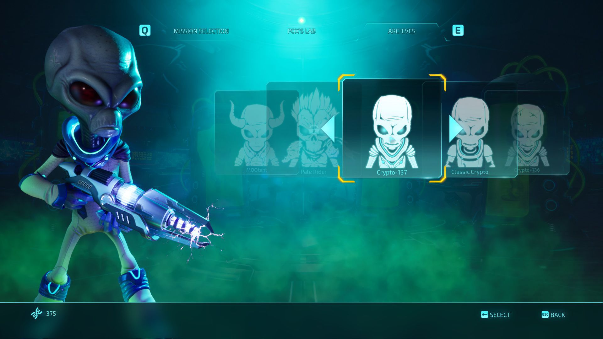 destroy all humans 2 salad days with pox and crypto currency