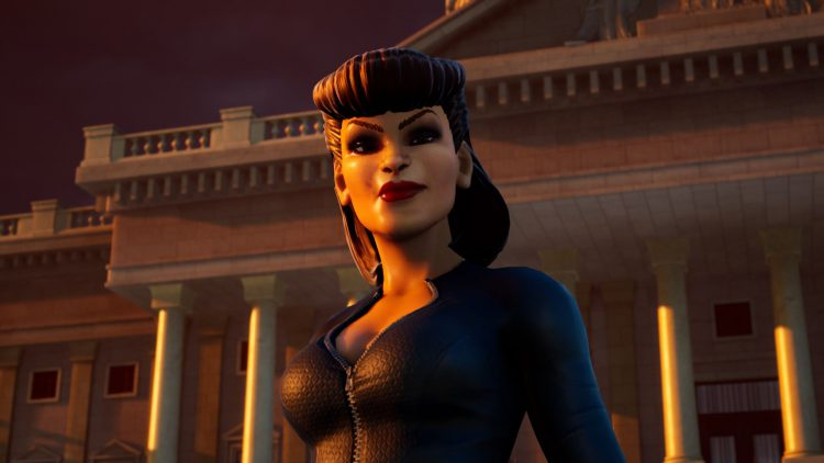 Image showing the Silhouette boss in Destroy All Humans (2020).