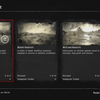 Image showing the Farmland Habitat category in Red Dead Online.