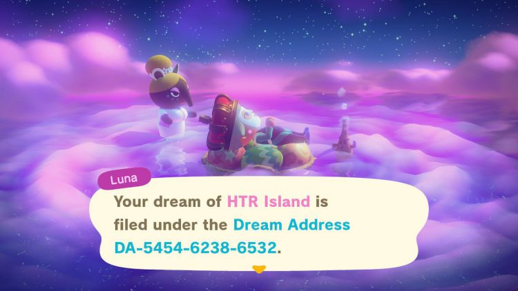 Image showing How to Make a Dream of Your Island in Animal Crossing New Horizons.