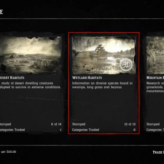 Featured image on Red Dead Online Wetland Habitat Animals Locations guide.