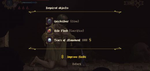 Featured image on Where to Find Quicksilver in Blasphemous guide.