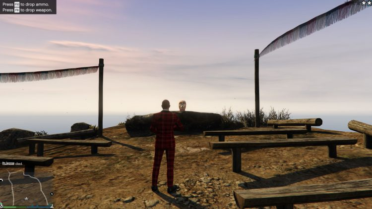 Image showing the Altruist prop location in GTA Online.