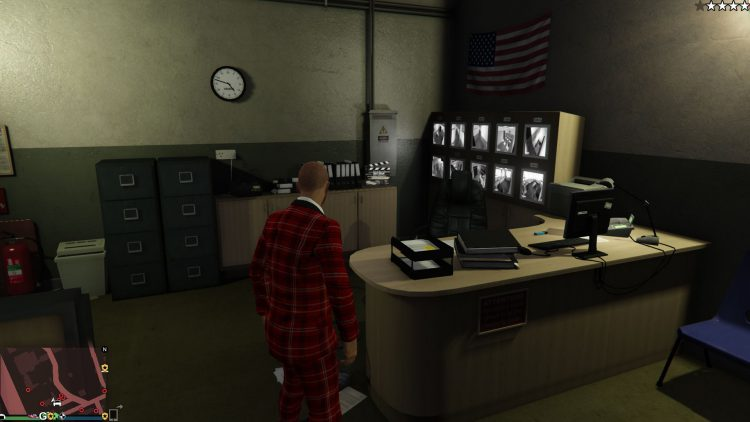 Image showing the location of the film reel collectible in GTA Online.