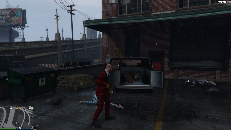 Image showing the props of random vehicle spawns in GTA Online.