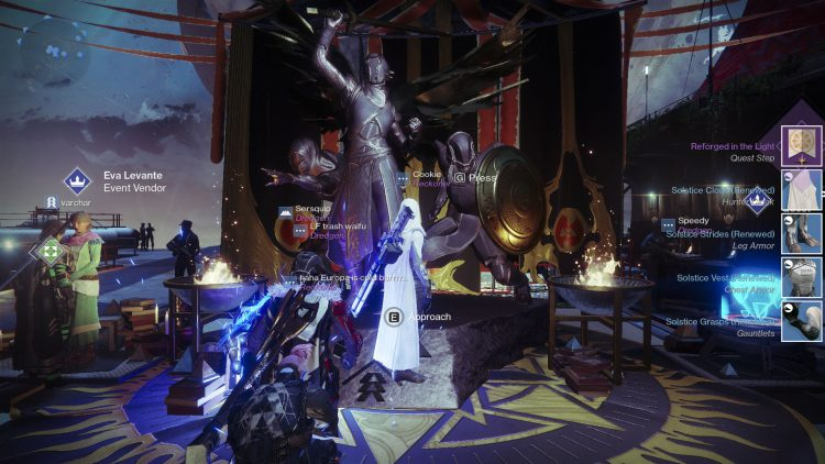 Image showing where to get the Solstice of Heroes Armor set in Destiny 2.