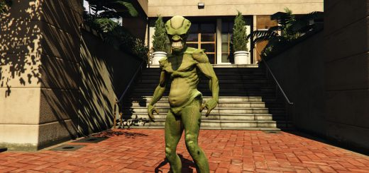 Featured image on How to Get the Alien Outfit in GTA Online guide.