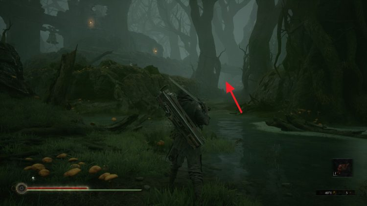 Image showing how to reach Fallgrim Tower in Mortal Shell.