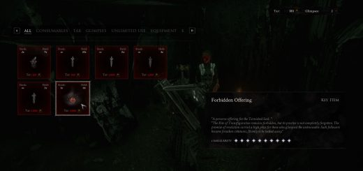 Featured image on Where to Find the Forbidden Offering in Mortal Shell guide.