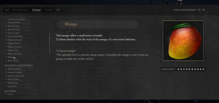 Featured image on where to find the Mango guide in Mortal Shell.