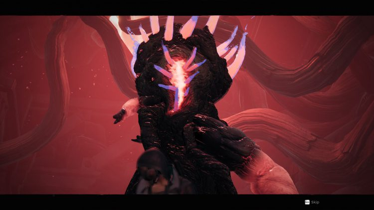 Image showing the Harsgaard boss in the Subject 2923 DLC for Remnant From the Ashes.