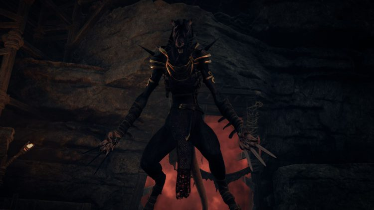 Image showing the Tian, the Assassin boss in Subject 2923 of Remnant From the Ashes.