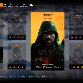 Featured image on The Division 2 Prime Target Hornet Guide.