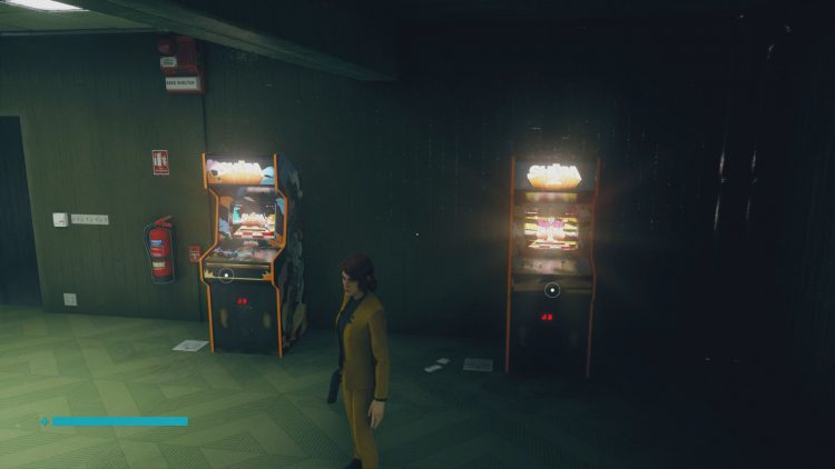 Image showing the Shum and Shum 2 arcade cabinets in Control AWE DLC.