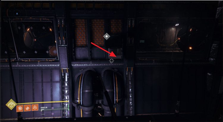 Image showing where to find the Rasputin Signal during the Signs of Life Quest Step.