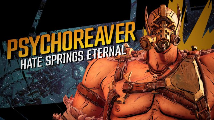 Image showing the Psychoreaver boss in the Borderlands 3 DLC.