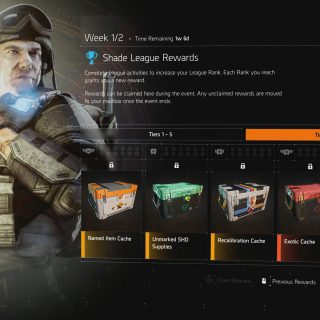 Featured image on The Division 2 Shade League guide.