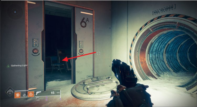 Image showing where to find the Matt Helsom tribute in Destiny 2.