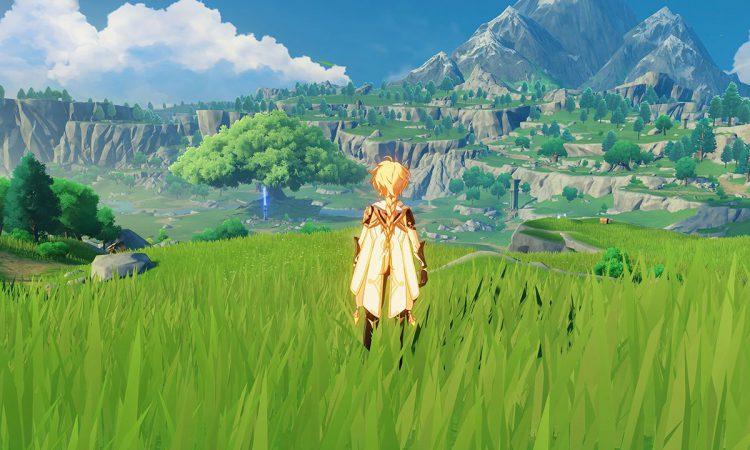 Image showing a screenshot from Genshin Impact.