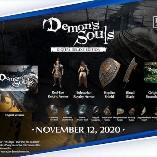 Featured image on Demon's Souls Standard and Digital Editions Content Guide.