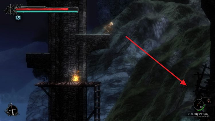 Image showing where to find the helmet for Steve in Vigil: The Longest Night.