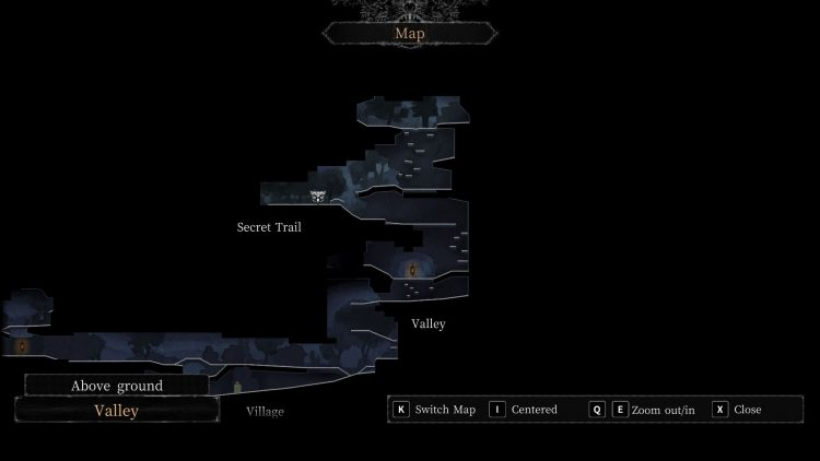 Image showing the Valley map in Vigil: The Longest Night.