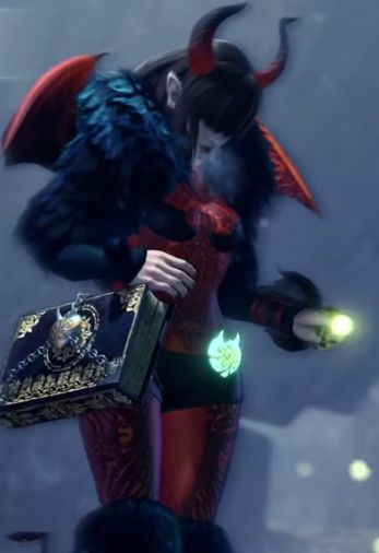 Image showing the Handler outfit during the Seliana Fun Fright Fest event.