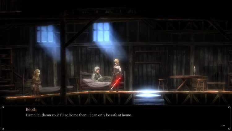 Image showing the Booth NPC in the Asylum in Maye Town.