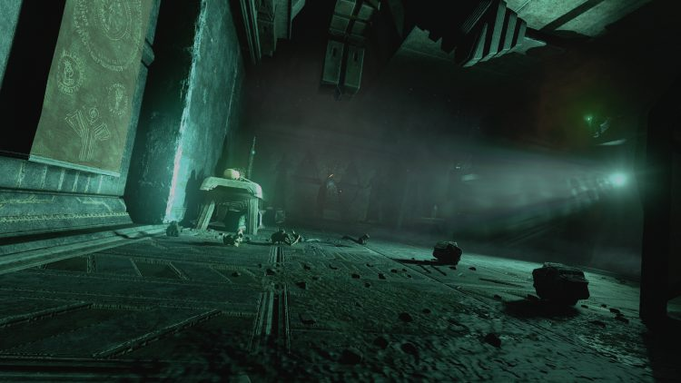 Image showing a screenshot from Amnesia: Rebirth.