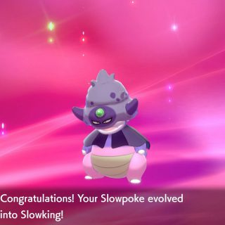 Featured image on How to Get Galarian Slowking in Crown Tundra guide.