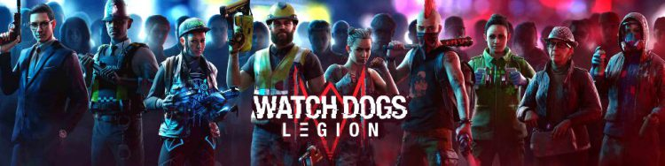 Image showing the Watch Dogs Legion logo.