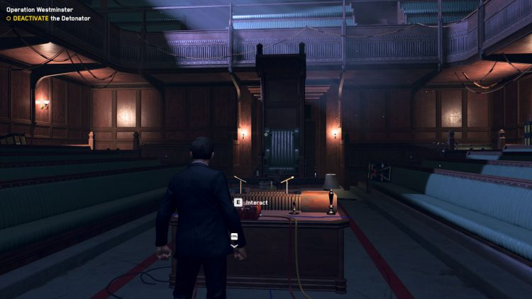 Image showing how to Deactivate the Detonator in the Watch Dogs Legion Operation Westminster mission.