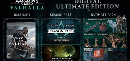 Featured image on How to Access Assassin's Creed Vallhalla DLC Items guide.