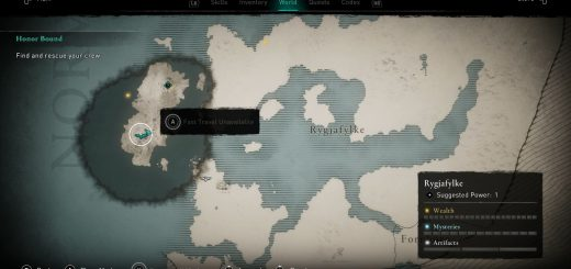 Featured image on How to Fast Travel in Assassin's Creed Valhalla guide.