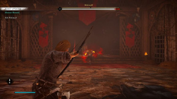 Image showing the Rikiwulf boss in Assassin's Creed Valhalla.