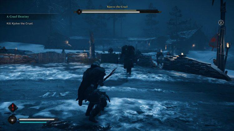 Image showing Kjotve the Cruel boss.